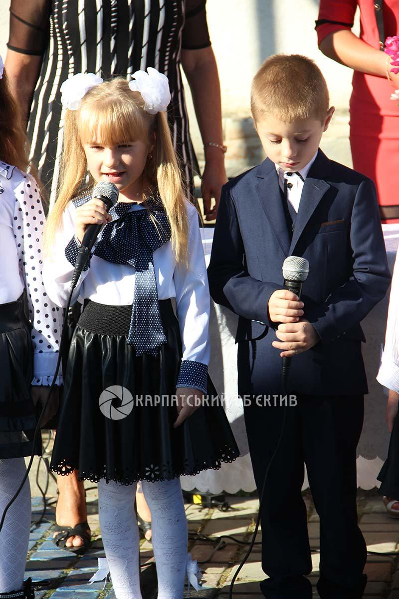 Перший дзвоник в оновленій Жнятинській школі