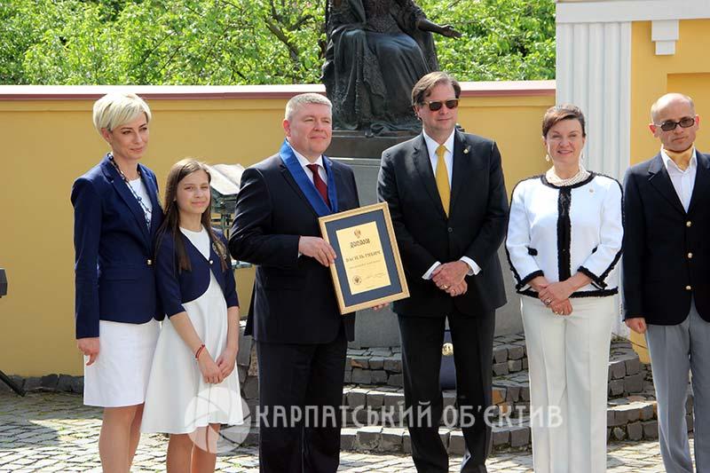 В Ужгороді обрано нового кавалера Ордену Марії Терезії