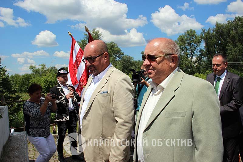 На Виноградівщині відзначили річницю визвольної війни 1703–1711 років під проводом Ференца Ракоці ІІ. ФОТО, ВІДЕО