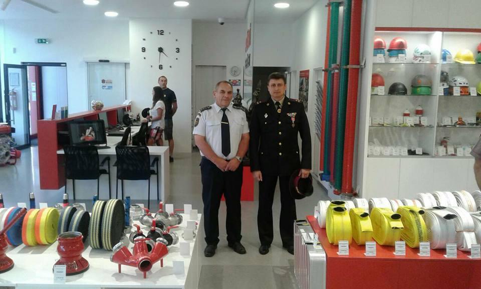 Закарпатські рятувальники відвідали чеських колег