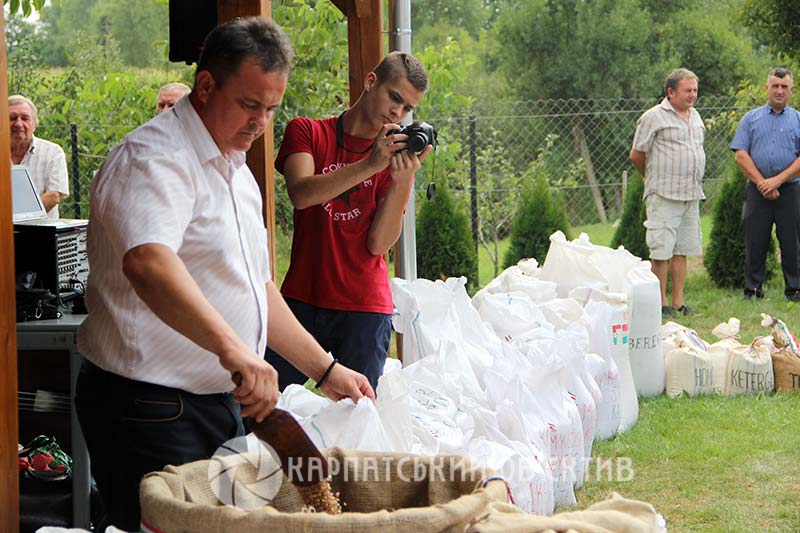У Карачині відбулося свято угорського хліба
