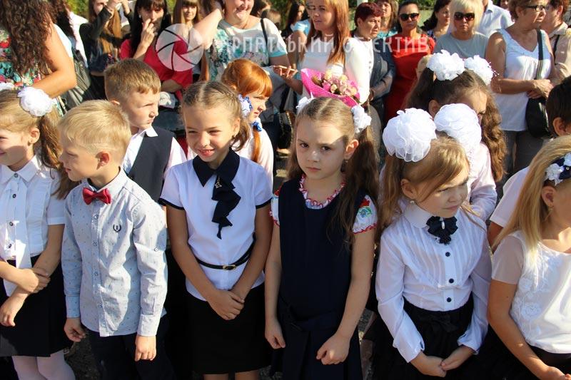 День знань в ужгородській СЗОШ І-ІІІ ступенів №2