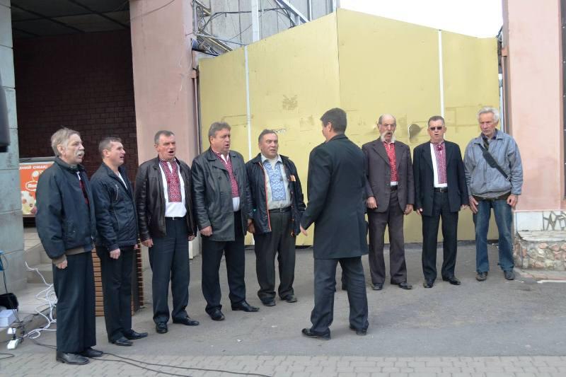 У Берегово керівництво району привітало учасників АТО. ФОТО