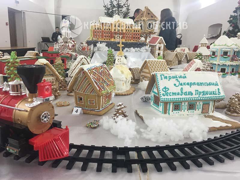 В Ужгороді стартував перший фестиваль пряників