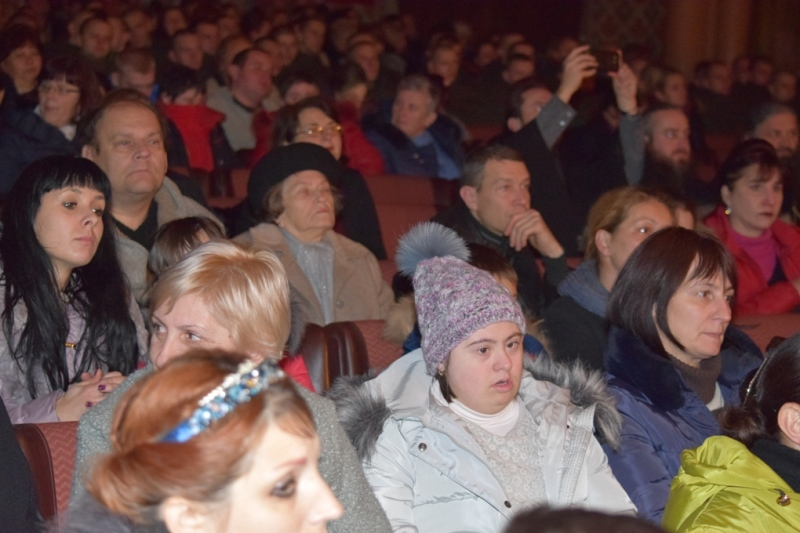 До Міжнародного дня людей із інвалідністю Закарпатський народний хор дав благодійний концерт