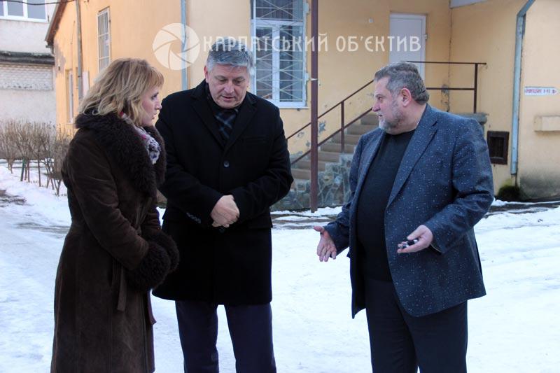 За підтримки Угорщини в Мукачеві відновили дах дитячої лікарні