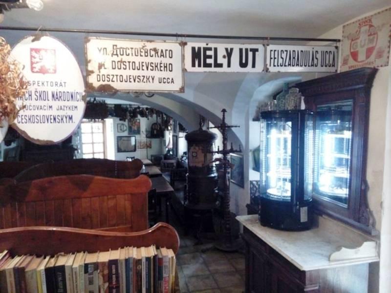 В Ужгороді хочуть відкрити виставку вуличних і будинкових табличок часів Австро-Угорщини та Чехословацької Республіки. ФОТО