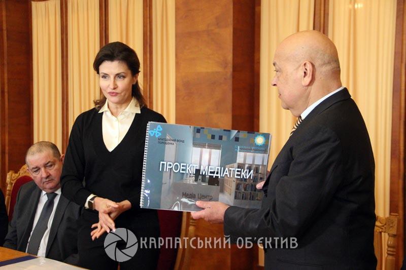 Перша леді України відвідала Закарпаття. ФОТО