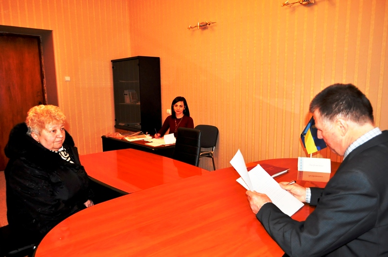 Перший заступник голови облради Йосип Борто провів прийом громадян