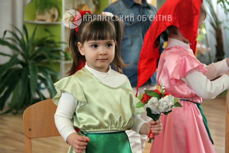 """В угорськомовній групі для дошкільнят НВК """"Ялинка"""" відбулось яскраве свято весни. ФОТО"""