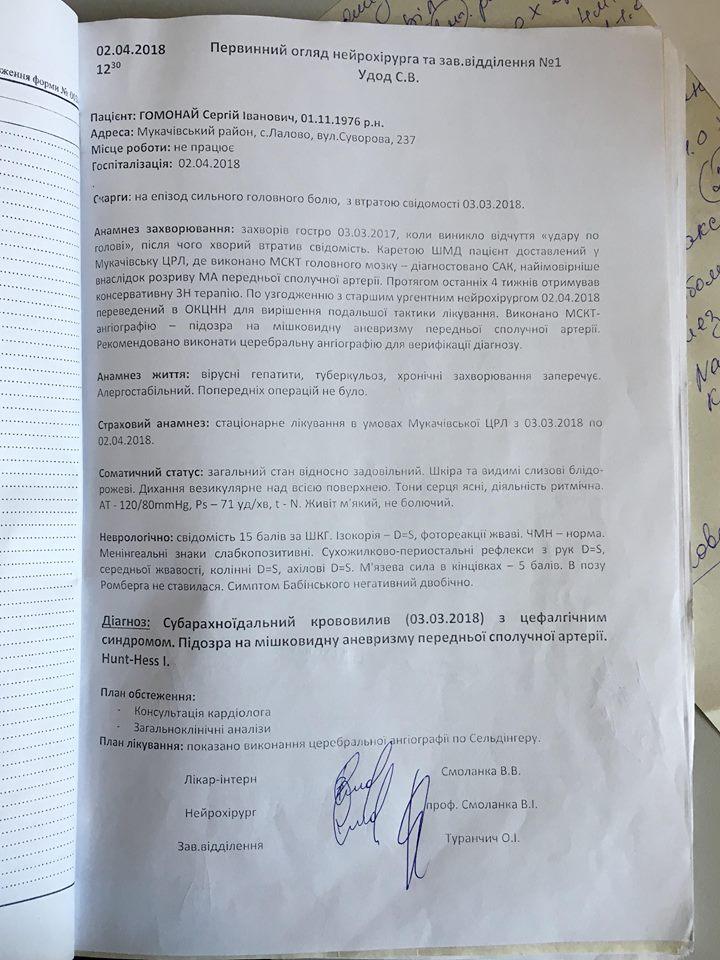 Мешканцю Мукачівщини потрібна допомога