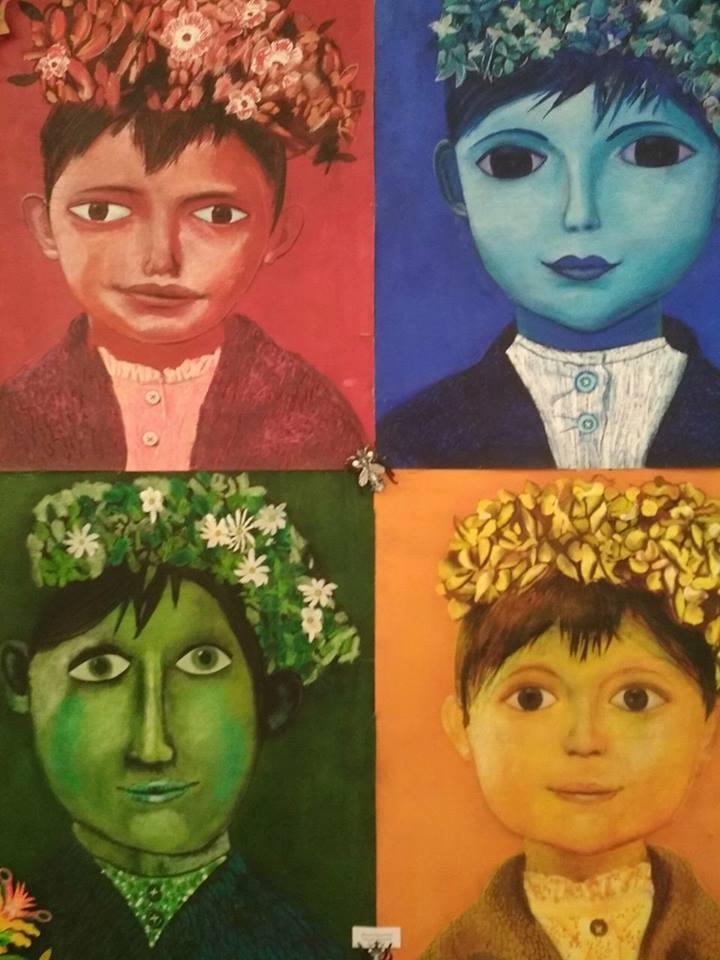 У Мукачеві відкрито виставку харківської авторської художньої студії AzaNiziMaza