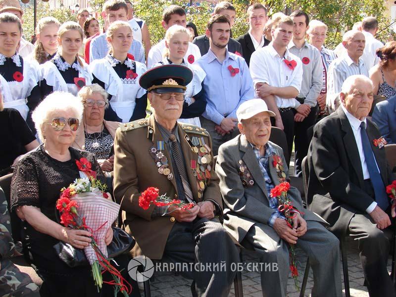 Хустяни вшанували пам`ять загиблих під час Другої світової війни