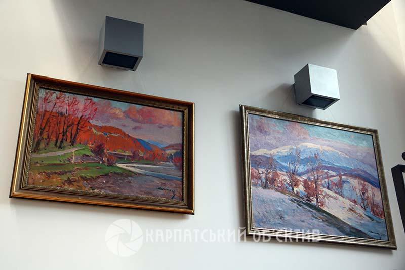 У Генеральному консульстві Угорщини в місті Ужгород відкрили виставку полотен Золтана Шолтеса