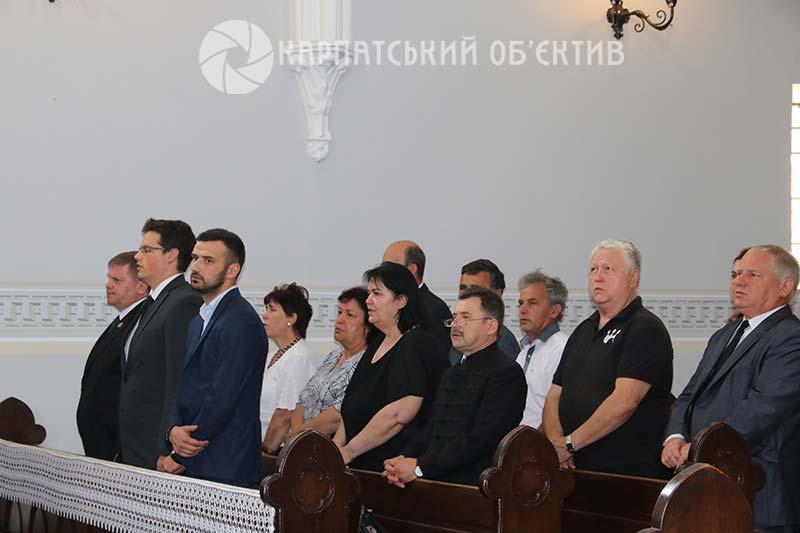На Закарпатті відзначили День національної єдності угорського народу. ФОТО,ВІДЕО
