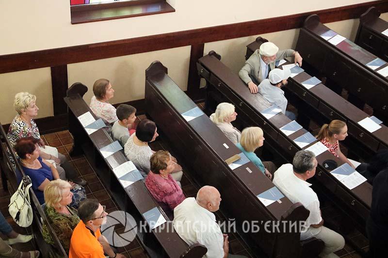 У Берегові концертом розпочали святкування Днів єврейської культури