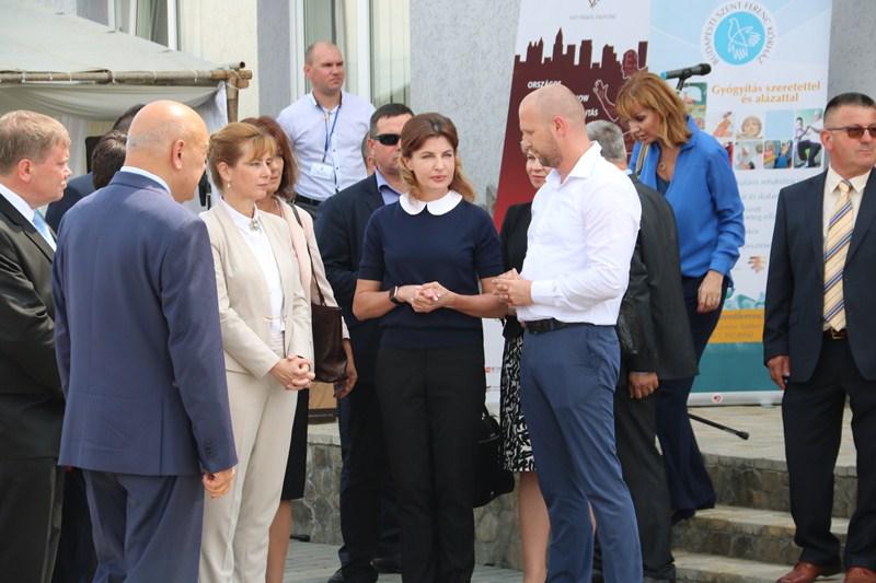 Перші леді України та Угорщини зустрілися на Закарпатті