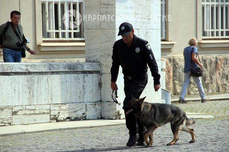 Національна поліція Закарпаття відзначила своє професійне свято