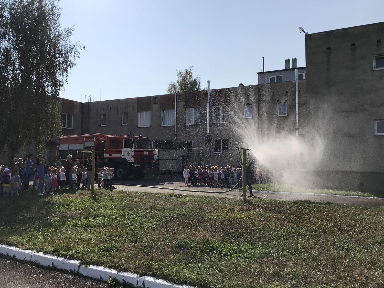 Рятувальники Перечинщини навчають дітей «осіннім» правилам пожежної безпеки