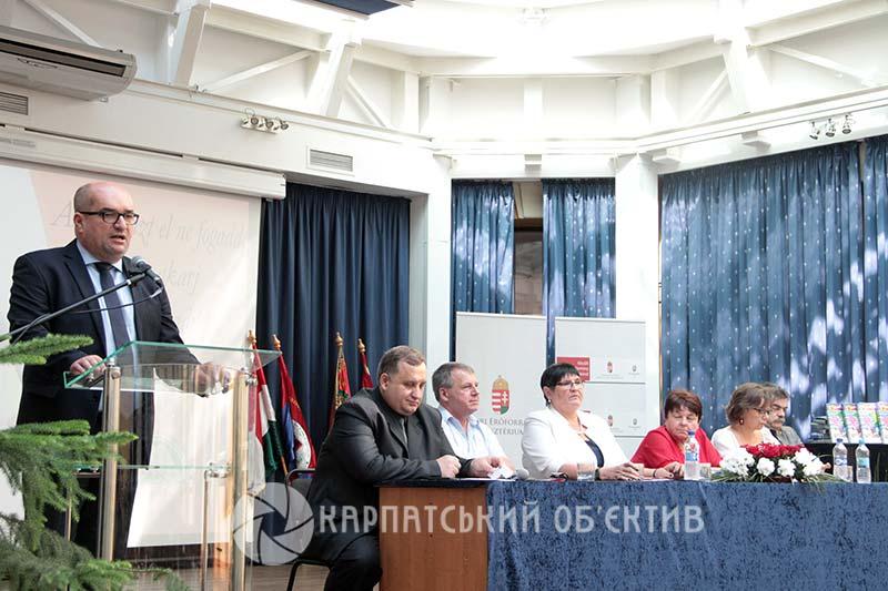 Нове започаткування на Закарпатті від угорськомовного педагогічного товариства