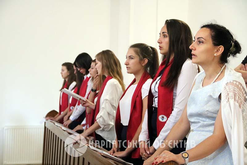 У Закарпатському угорському інституті ім. Ференца Ракоці ІІ офіційно стартував новий навчальний рік. ФОТО, ВІДЕО