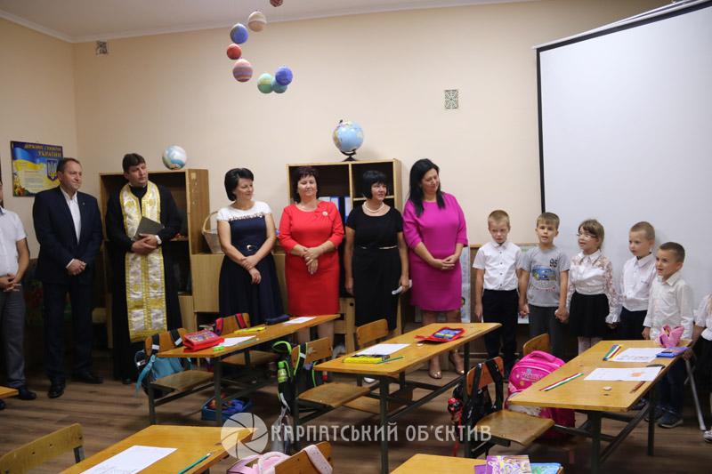 У Виноградівському районі оновили ще один угорський клас