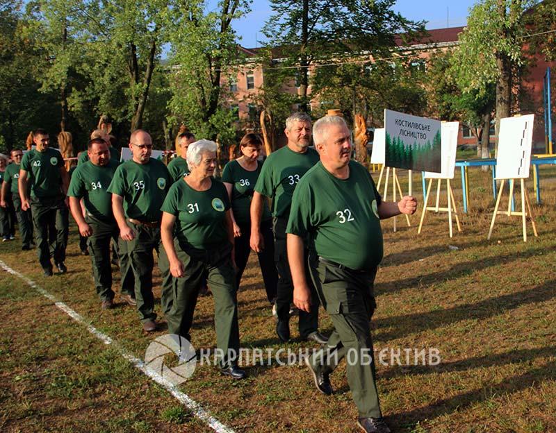 На старт виходять закарпатські лісівники