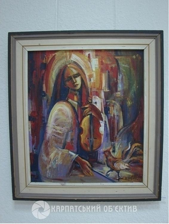 Його полотна надихають: у Хусті відкрилася ювілейна виставка Мар'яна Багнія. ФОТО