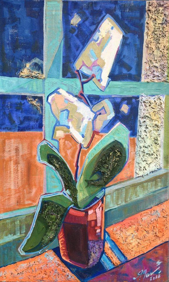 Дебют в мистецтві: молода художниця презентує свій доробок в Мукачеві