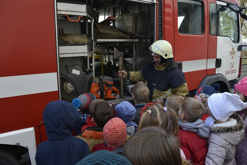 До ужгородських школярів завітав Національний урок безпеки