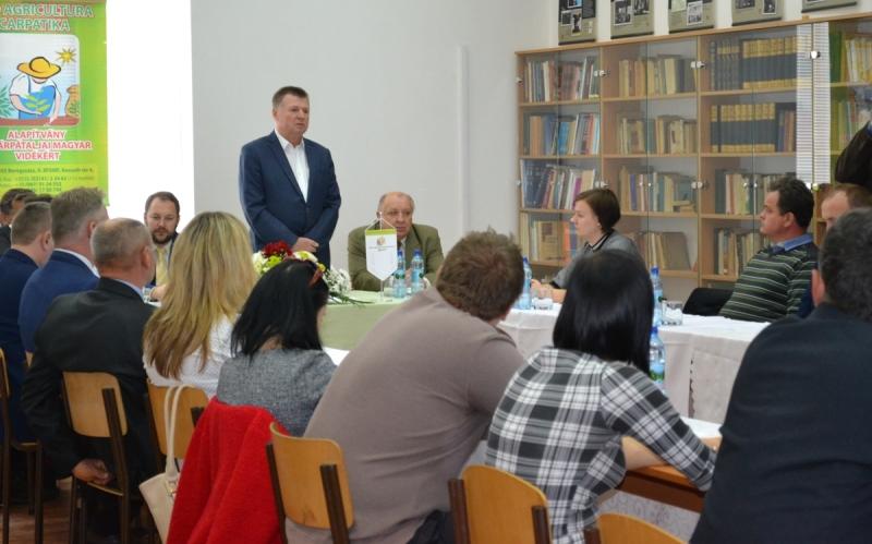 У Берегові вшановано пам'ять науковця зі світовим ім'ям та проведено форум аграріїв