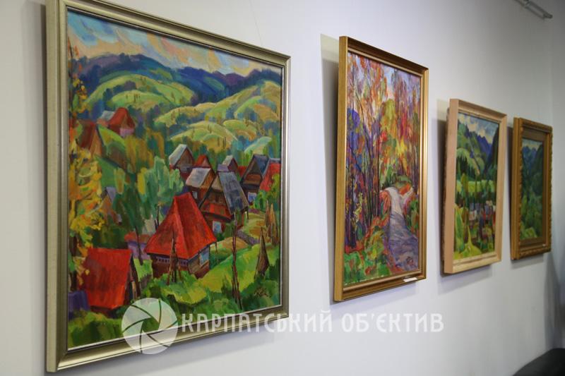 В ужгородському Генконсульстві представили виставку художника Яноша Рейті