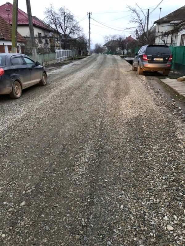 На Виноградівщині почали капітальний ремонт дороги «Неветленфолу – Дюла – Чорнотисів»
