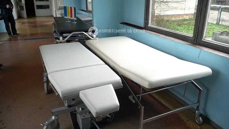Воловецька районна лікарня отримала німецько-угорську гуманітарну допомогу. ВІДЕО