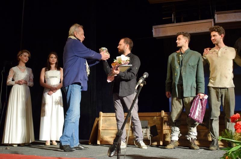 В Ужгороді завершився фестиваль театрального мистецтва