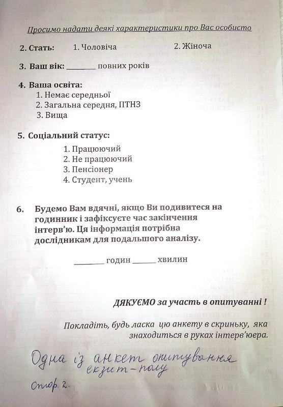 Екзит-пол: чи варто виборцям брати участь в опитуванні?