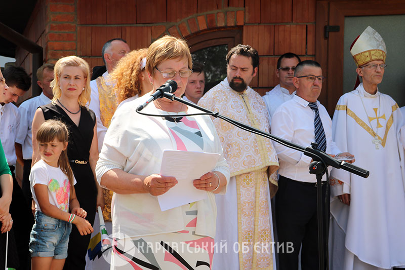 У дитячому будинку на Ужгородщині освятили каплицю та прийняли учасників благодійного забігу