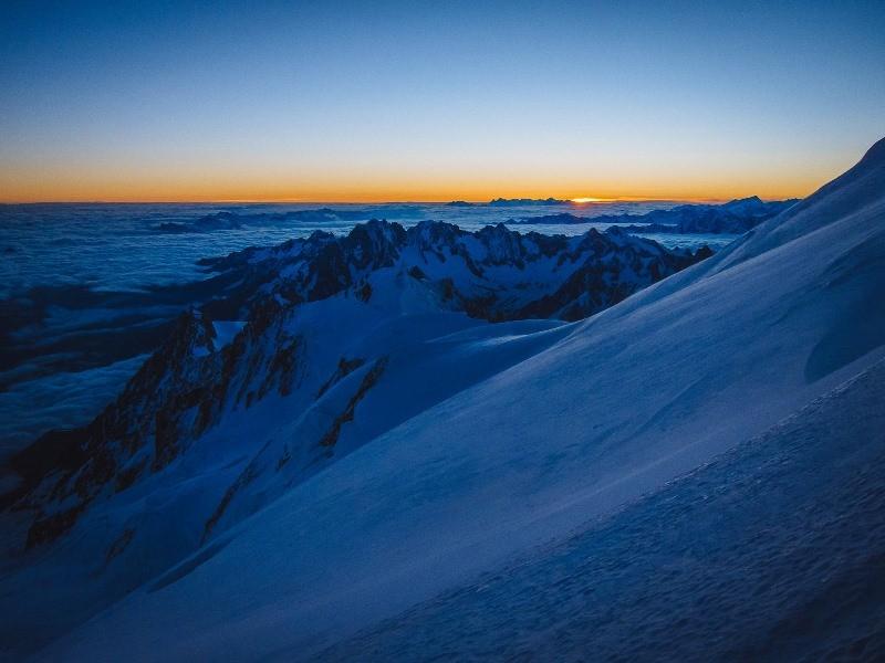 Підкорити Монблан: закарпатці піднялися на найвищу вершину Європи. ФОТО