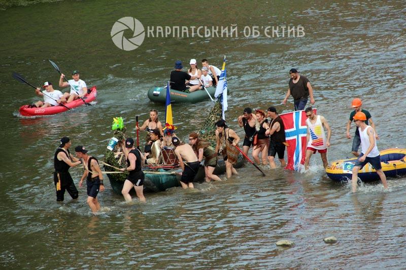 Найочікуваніша подія літа: ювілейна «Ужгородська регата» побила всі рекорди. ФОТО