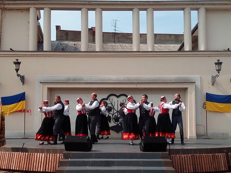 Як Ужгород святкує День Незалежності України. ФОТО