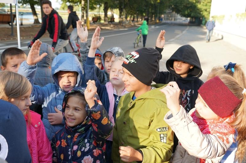 В Ужгороді провели урок із безпеки на дорогах. ФОТО