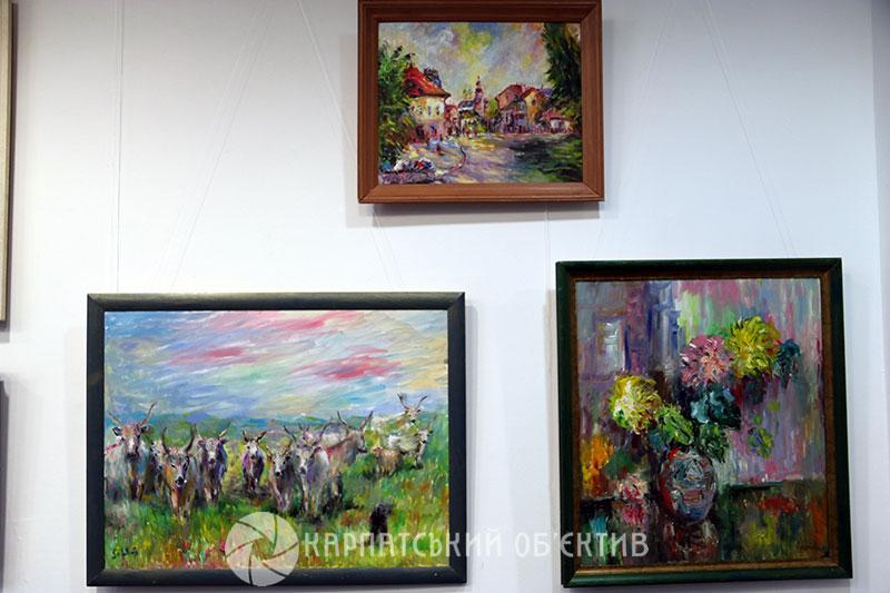 У Генконсульстві Угорщини в Ужгороді відкрили виставку полотен живописця Петра Шолтеса