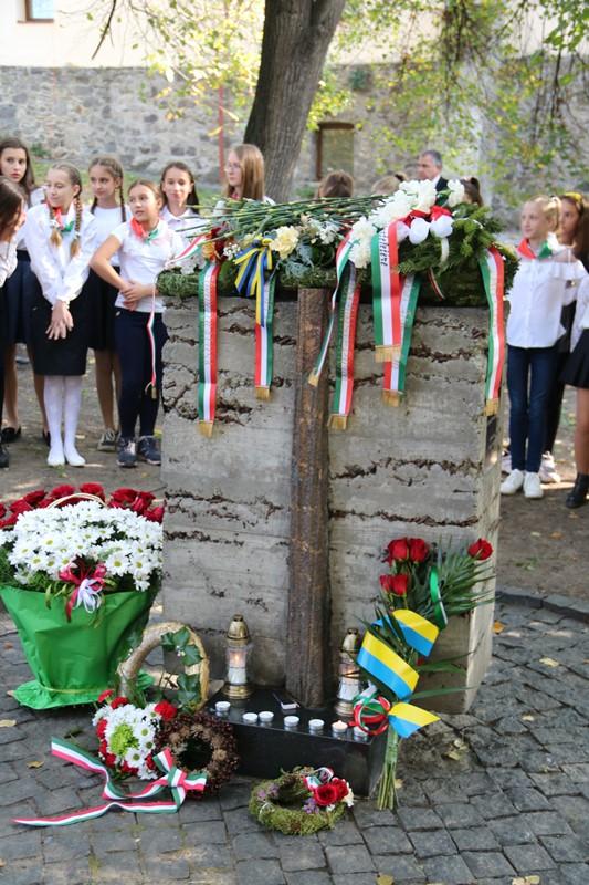 В Ужгороді відзначили річницю Угорської революції 1956 року