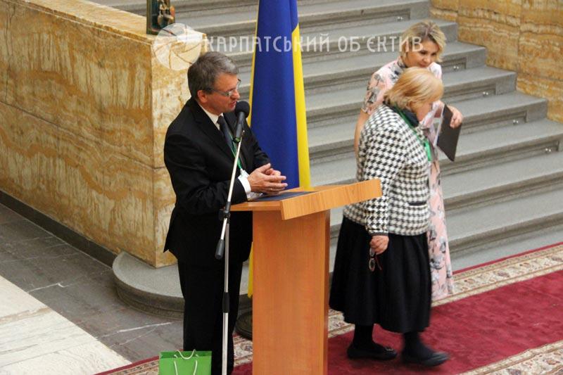 В Закарпатській ОДА відбулися урочистості з нагоди 20-річчя створення Ужанського НПП