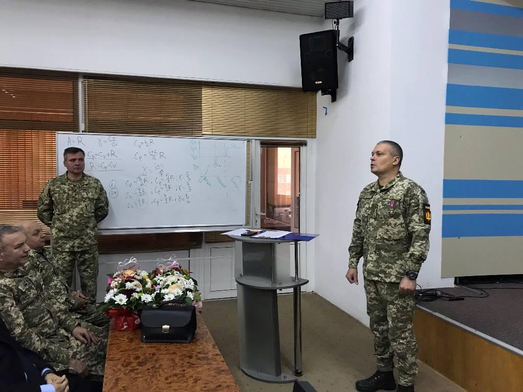 В УжНУ відзначили річницю Збройних сил України. ФОТО