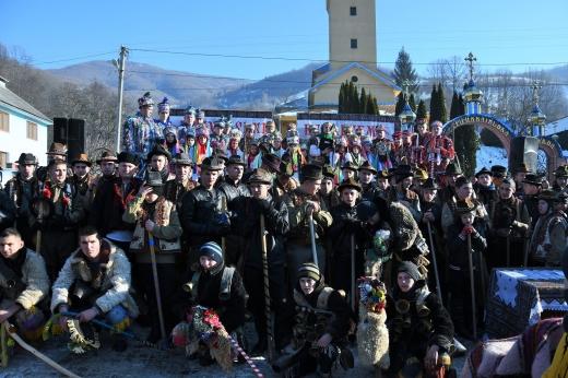 На Рахівщині відбувся колоритний різдвяний фестиваль «Гуцульські бетлегеми»