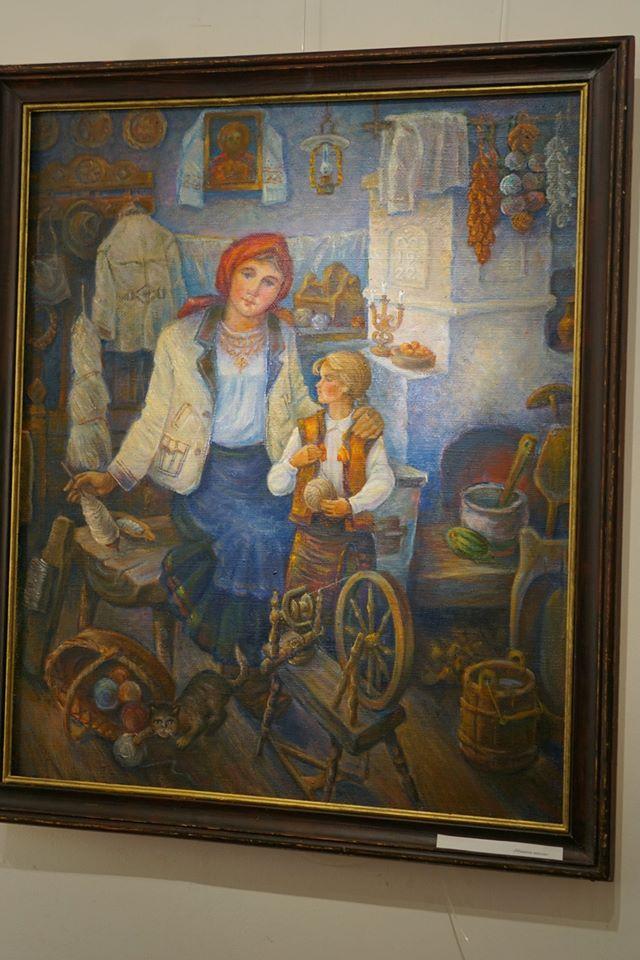 У галереї «Ужгород» відкрилась виставка робіт батька й сина Кінчів «Родинний вернісаж». ФОТО