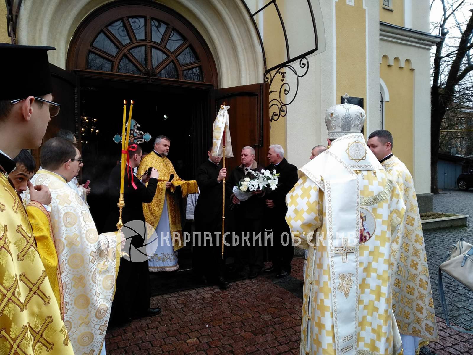 У Хусті греко-католики відзначили 30-річчя повернення собору Святого Вознесіння. ФОТО